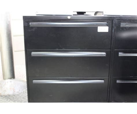 3 drawer lateral file cabinet black black 3 drawer lateral file cabinet able auctions
