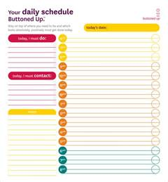 46 of the best printable daily planner templates kitty