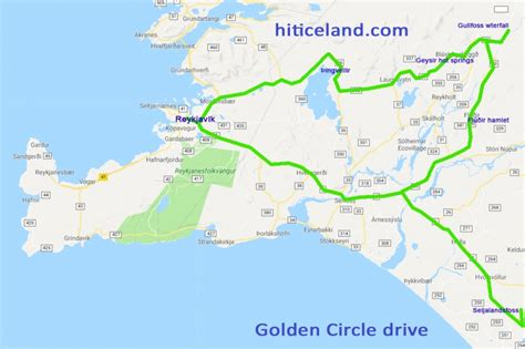 golden circle iceland map golden circle drive in iceland hit iceland