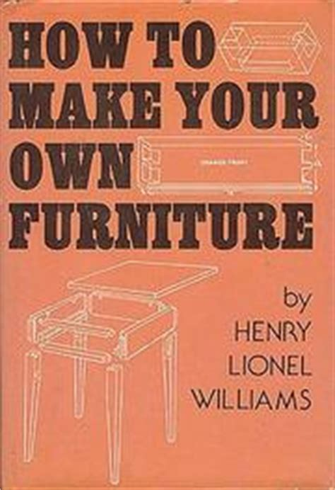 how to make your own furniture open library