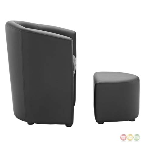 armchair with ottoman divulge modern upholstered armchair with matching ottoman