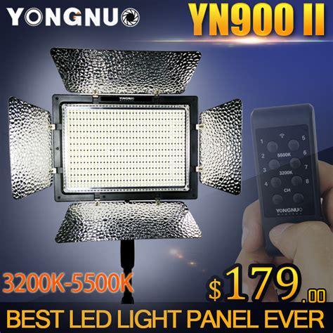 Yongnuo Yn 900 5500k Flash Pro Led Light 1 yongnuo yn900 ii high cri 95 wireless 3200k 5500k led light panel yn 900 900 l beans