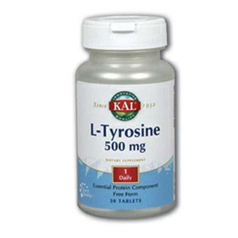 Taking L Tyrosine For Tramadol Detox by Kal L Tyrosine 500 Mg 30 Tablets Evitamins