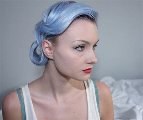 how to do the periwinkle hair style periwinkle blue on