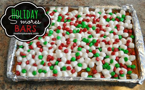 christmas s mores bars recipe christmas treats holiday