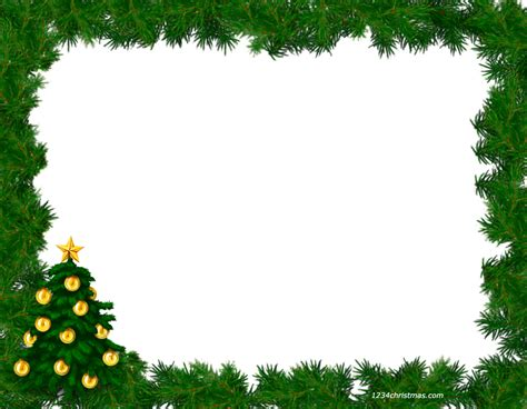 free christmas picture border frames christmas photo