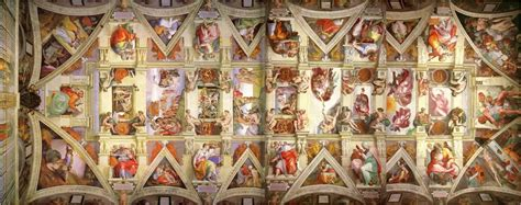 Where Is The Sistine Chapel Ceiling Located by Talk Michelangelo
