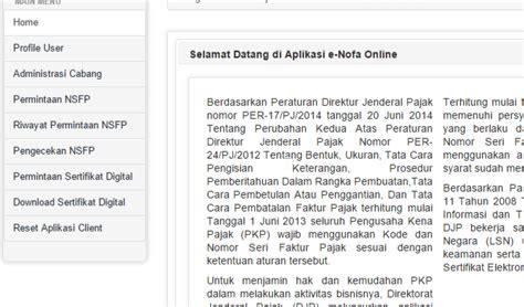 lupa membuat faktur pajak cara meminta nomor seri faktur pajak online e faktur