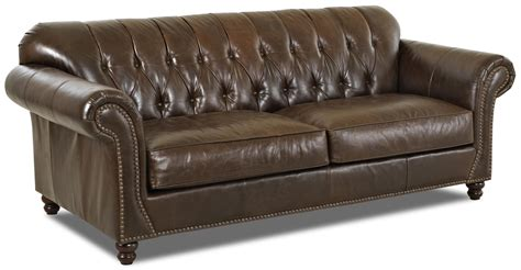 traditional button tufted sofa klaussner flynn ld90910 s traditional sofa with button
