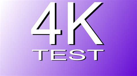 test 4k 4k demo uhd 4k resolution test 4k demo