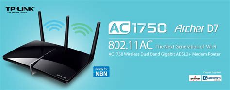 Tp Link Archer D7 Ac1750 Wireless Dual Band Gigabit Adsl2 Mode T30 tp link archer d7 ac1750 wireless dual band adsl2 modem