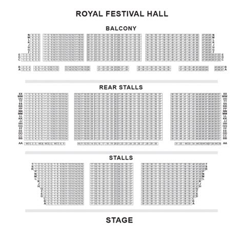Bic Floor Plan Royal Festival Hall Seating Plan London Boxoffice Co Uk