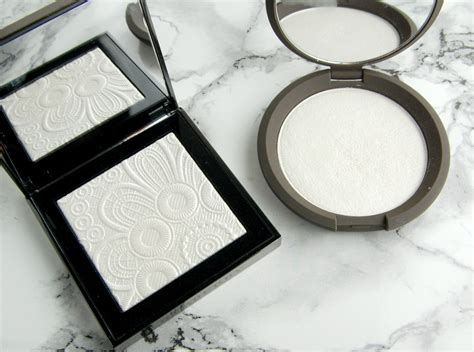 Becca Highliter Shade Pearl burberry summer 2016 functionregalia runway palette in optic white no 1 swatch and review