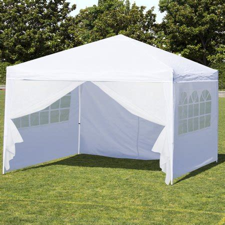 10 X 14 Ez Up Canopy by Best Choice Products 10 X 10 Ez Pop Up Canopy Tent Side