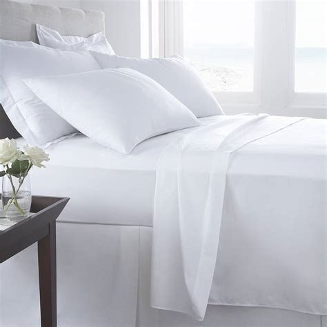 vermont white organic cotton  tc percale bed linen   fine cotton company