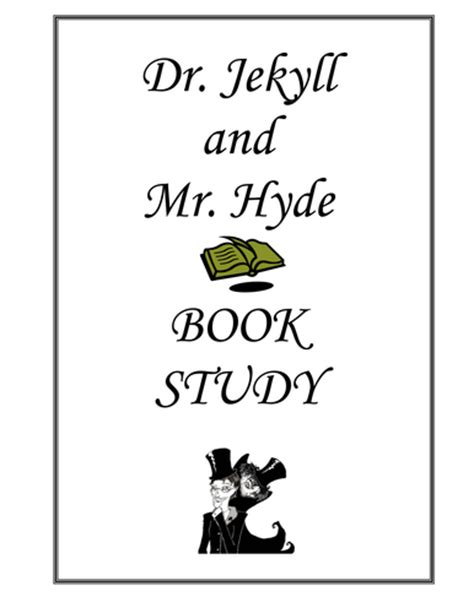dr jekyll and mr hyde book report dr jekyll and mr hyde book studies by abi209 uk teaching