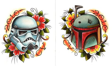 boba fett tattoo designs 17 wars tattoos designs