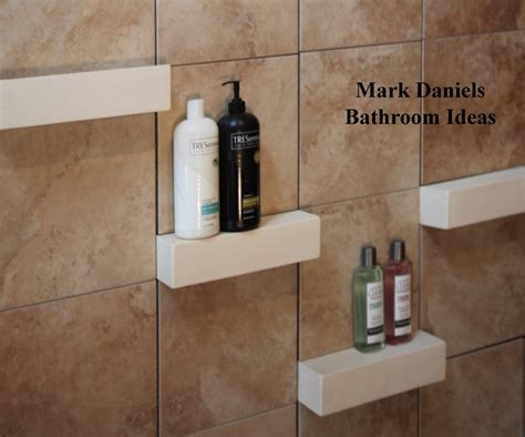 Tile Shower Shelf Ideas by Bathroom Remodeling Design Ideas Tile Shower Niches