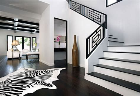 black and white interiors stylish home black and white interiors