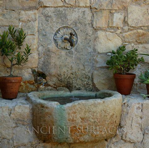 Outdoor Decor Garden Fountains All For The Patio Backyard And Frontyard Mediterranean Outdoor Fountains And Ponds