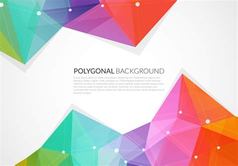 backdrop design vector abstract colorful triangle vector background vector