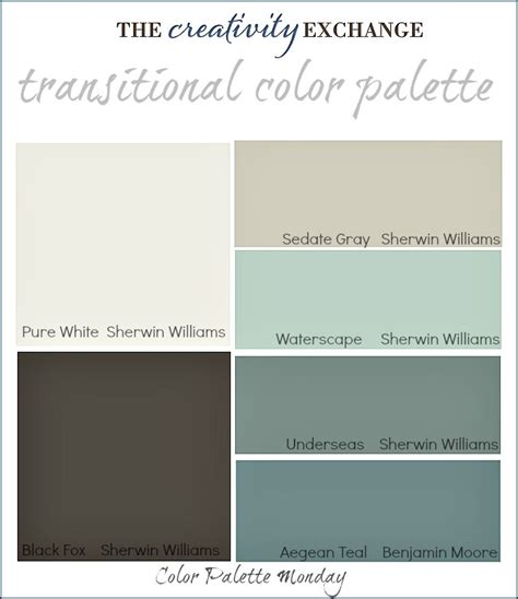 colors that go well with grey transitional paint color palette color palette monday 3