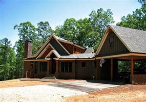 mountain cottage house plans rustic craftsman lake house plan smoky mountain cottage