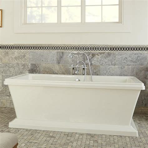 best freestanding bathtubs outstanding rectangular freestanding soaking tub gallery