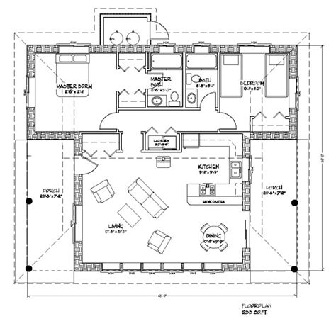 contemporary sustainable home plans inviting nature