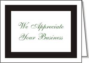 we appreciate your business cards we appreciate your business thank you cards