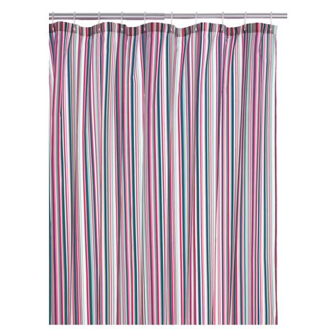 striped shower curtain multicolor shadi multi coloured stripe shower curtain buy now at