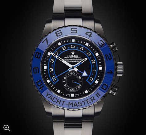 Rolex Yacht Master II: MKII   Titan Black