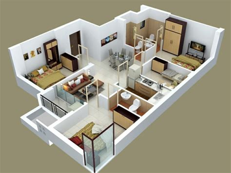 apartments floor plans 3 bedrooms insight of 3 bedroom 3d floor plans in your house or