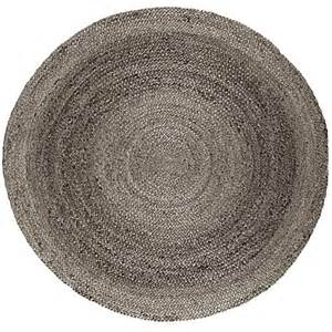 Round Grey Rug Anji Mountain Round Kerala Gray Jute Rug 8 W X 8 L 7562989 Hsn