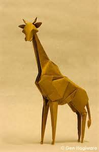 Origami Giraffe Easy - 1000 ideas about origami animals on origami