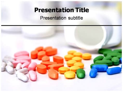 medicine ppt templates colorful medicine pills powerpoint templates and backgrounds