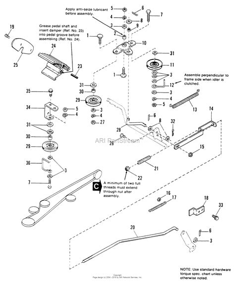 simplicity belt diagram simplicity 1691253 4212h 12hp hydro and 36 quot mower deck