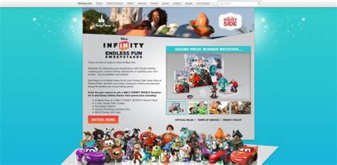 Disney Infinity Sweepstakes - disney com infinityfunsweeps disney infinity endless fun sweepstakes