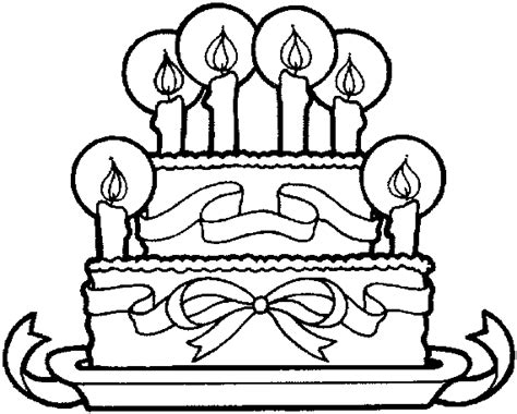 coloring pages birthday cake candles birthday cake coloring page with no candles pages ideas