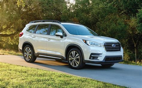 Subaru Forester Vs by Comparison Subaru Ascent Premium 2019 Vs Subaru