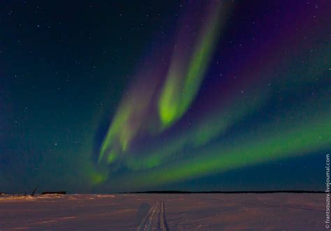 Northern Lights In The Sky Over Karelia 183 Russia Travel Blog Lights In