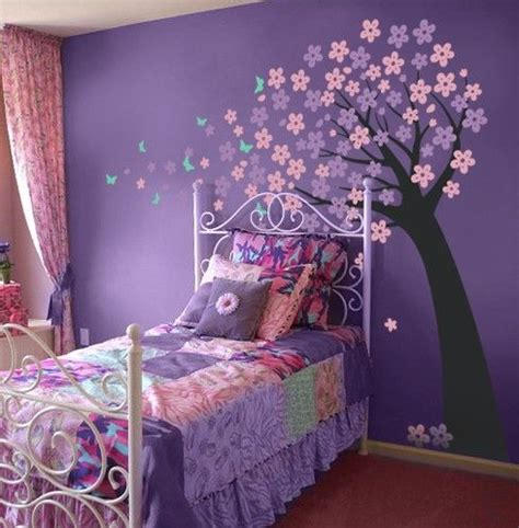 purple bedroom ideas  teenage girls