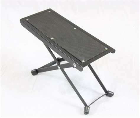 Adjustable Guitar Stool by Bn Guitar Guitarist Foot Stool Adjustable Rest Stand