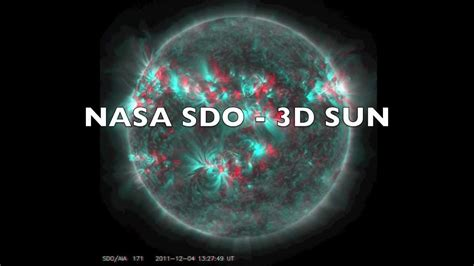3d Images Of Sun To Help Nasa Predict Solar Flares by Nasa Sdo 3d Sun Hd Version 3d Glasses Needed