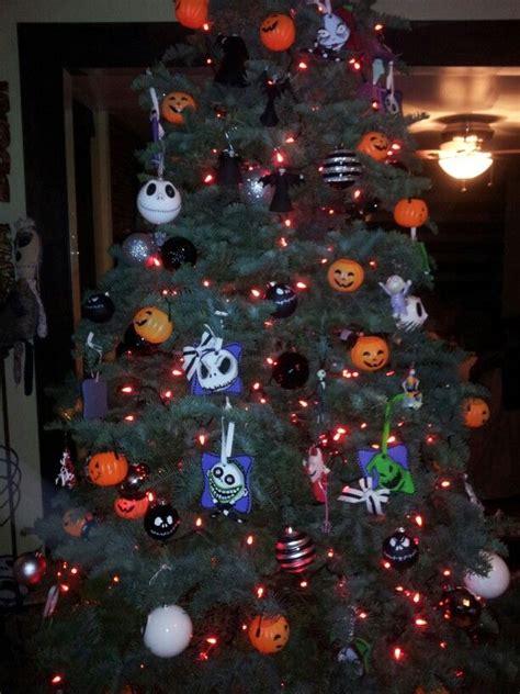 nightmare before christmas tree xmas trees pinterest