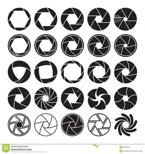 shutter tattoo designs shutter icons stock vector illustration of