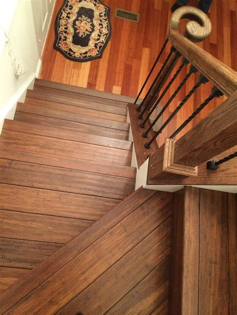 floor  stairs  antique java fossilized bamboo flooring  cali bamboo bamboo flooring pinterest java flooring  antiques