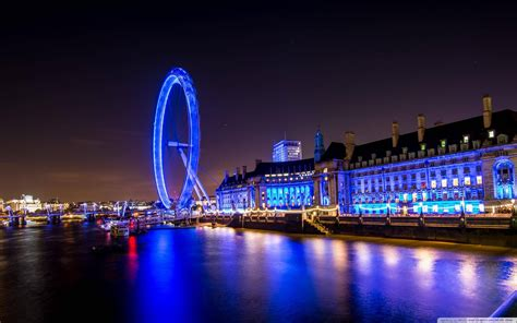 london skyline  night wallpaper gallery