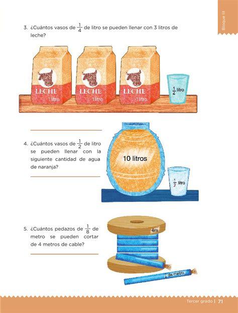 pagina71 del libro de matematicas con respuestas desaf 237 os matem 225 ticos libro para el alumno tercer grado