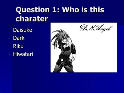 Anime Question by Anime Quiz